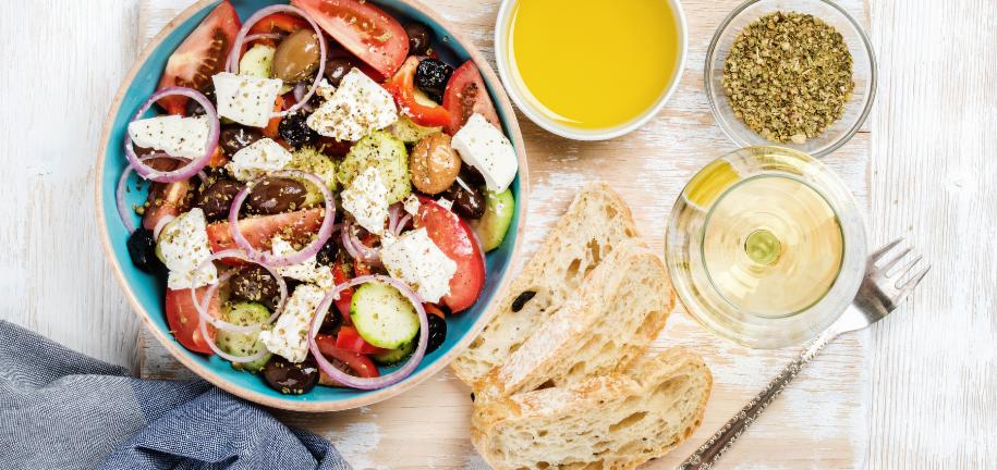 Ricetta per l'Insalata Greca Salutare