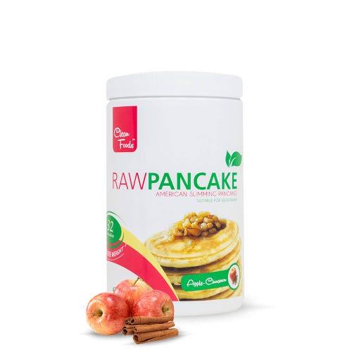 RawPancakes Mela e Cannella