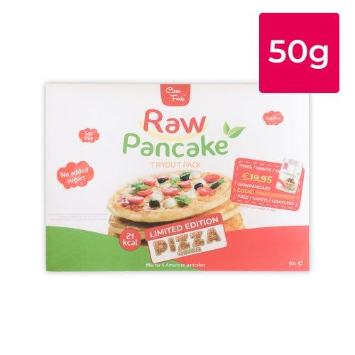 Tryout RawPancake Pizza