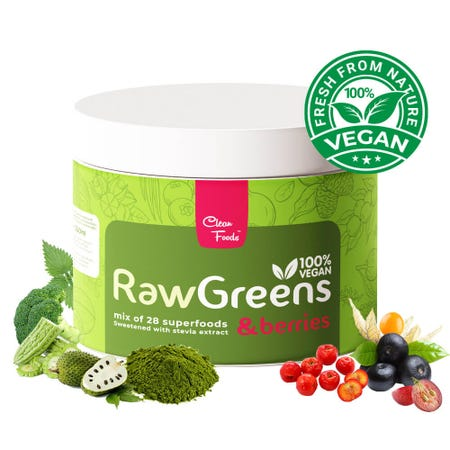 RawGreens & Berries